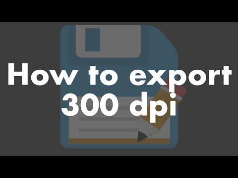 Export 300 dpi image for Elsevier Publication
