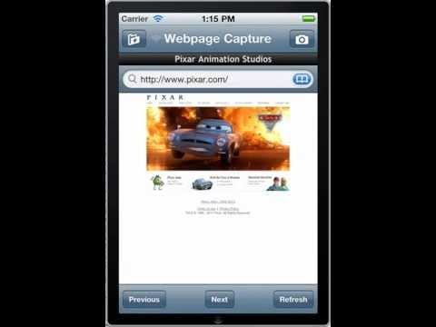 Webpage Capture iPhone 4 Retina Printing
