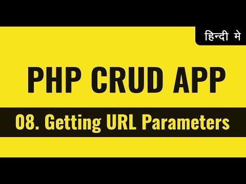 Sending URL Parameter to Another Page | PHP CRUD Operations Tutorials in Hindi Urdu | vishAcademy