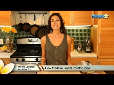 How to Make Baked Sweet Potato Chips