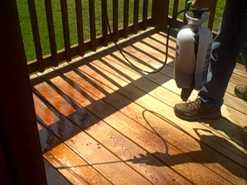 How to Stain Your Ready Deck