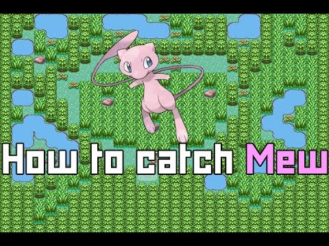 How to catch Mew - Pokemon Emerald/Ruby/Sapphire