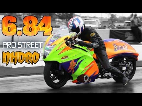 6.84 World Record pass Jeremy Teasley pro street bike