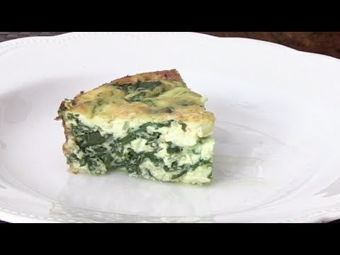 Spinach and Cheese Frittata | How to make Palak Cheese Frittata By Nikhil