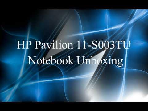 HP Pavilion 11-S003TU /11-S002TU  Notebook unboxing & Review