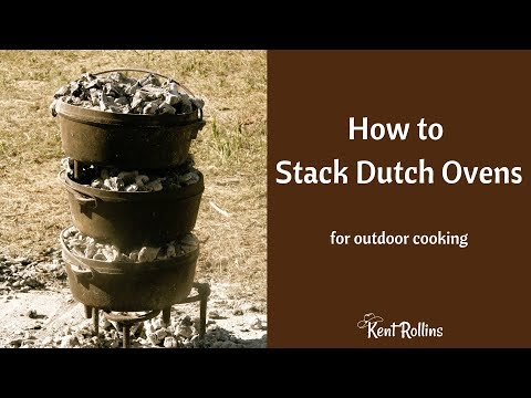 How to Stack Dutch Ovens