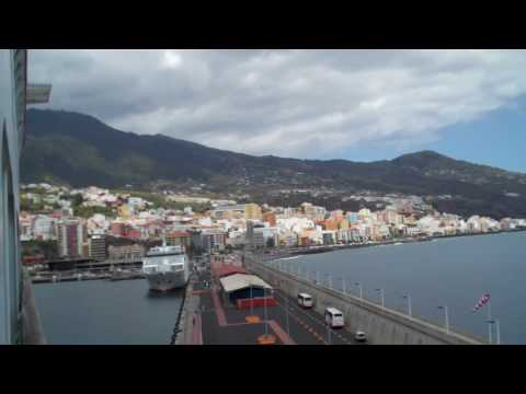 La Palma, Canary Islands from our Balcony
