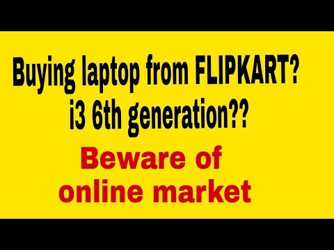 Buying laptop online from FLIPKART | REALITY |