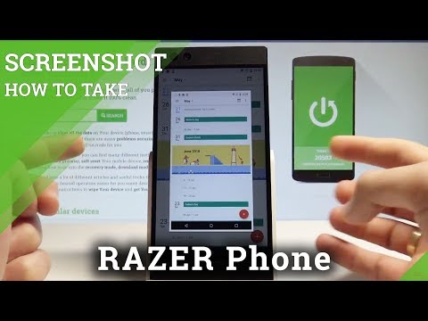 How to Take Screenshot in RAZER Phone - Capture Screen Methods  HardReset.Info