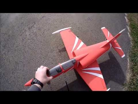 My 1st RC Plane Flight!  L-39 EDF