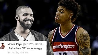 Kelly Oubre Deletes ROASTING Of Drake After Being Called A BUM In Game 2: Is He Scared Of The 6 God?