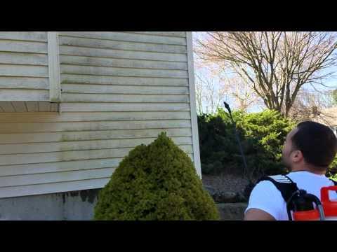 How to power wash vinyl siding, Joe Maxx Mildew Killer | Connecticut House Painters LLC