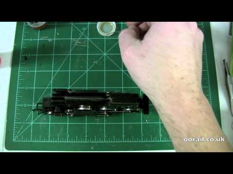 oorail.com | How to repair a slow moving steam locomotive - OO scale Model Railway