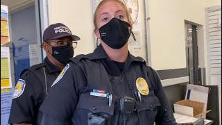 (EPIC FAIL) They Went Crazy Really Quick!! MASK Refusal in Fort Pierce FL