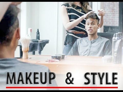 NEYMAR | MAKEUP AND DRESSING UP | HAIR STYLING |