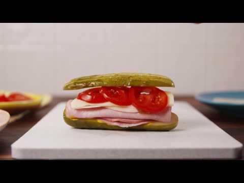 Pickle Sub Sandwich | Delish