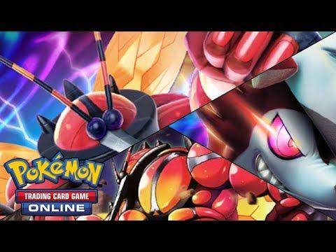 Pokémon TCG Online: Mazo Buzzwole-GX/Lycanroc-GX [BKT-FOL]