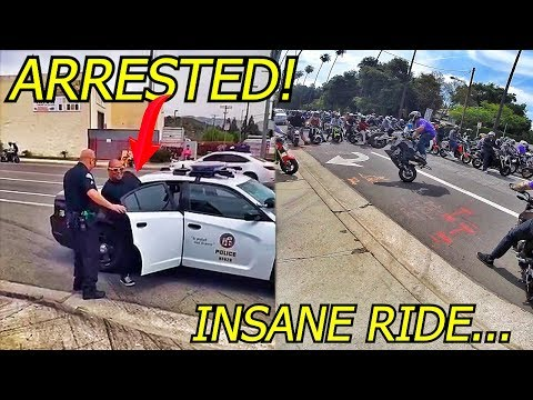 GOES TO JAIL FOR DOING A WHEELIE!!