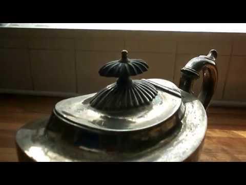 VINTAGE JOSEPH RODGERS & SONS SHEFFIELD ELECTRO SILVERPLATE TEA POT