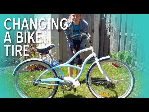 Fixing My Bike Tire 🚴 | TypiKelly
