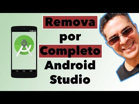 Aprenda remover por completo Android Studio no MacOS e Linux