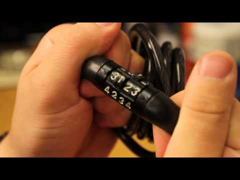 HACKING a bike LOCK in 2 min or less!