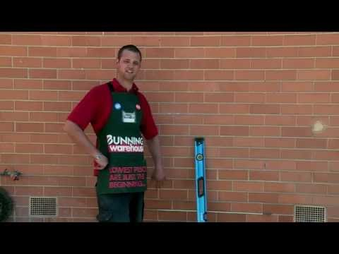 How To Cut A Brick Wall Opening - DIY At Bunnings