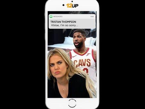 Tristan Thompson Texts Khloe Kardashian to Apologize for Cheating Scandal