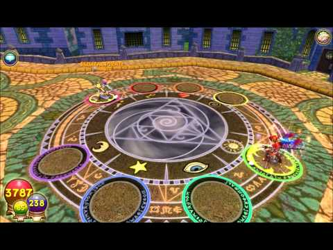 Wizard101 Spell Showcase:Using Water Efreet