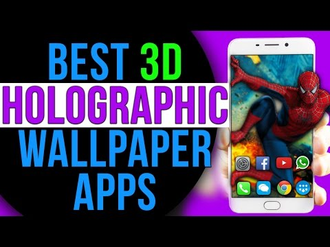 Best Amazing 3D PARALLAX HOLOGRAPHIC Live Wallpaper for Android + Gyroscope Wallpaper Apps ⚡⚡⚡⚡⚡