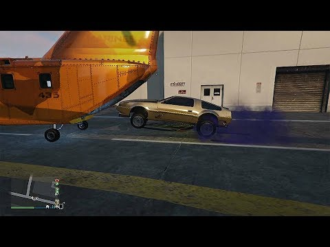 New Opportunities In GTA Online - Now The Cargobob Hatch Can Be Opened From The Interaction Menu