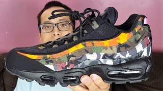 best service a1d0f 289a4 Are These Really Worth Their Price ! Nike Air Max 95 ERDL Party Camo Black