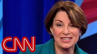 This is the question Amy Klobuchar says she'd ask Trump