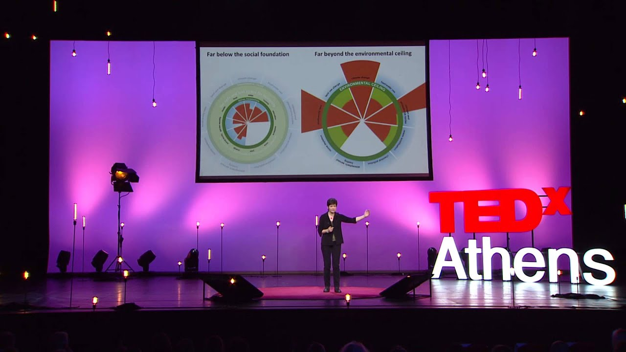 Why it's time for 'Doughnut Economics'   Kate Raworth   TEDxAthens