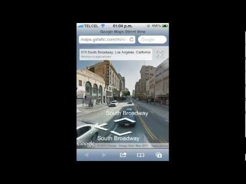 Fix Apple New Maps (Replacement) whit New Google Maps & Street View on iOS 6 iPhone 5 no Jailbreak