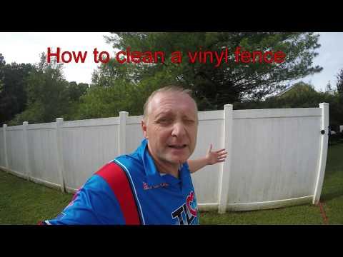 Vinyl fence cleaning tip by tlc pressure washing murfreesboro tn