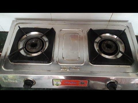 5 minute me karein gas stove aur burner naya jaisa    clean gas stove and burner    make stove shine