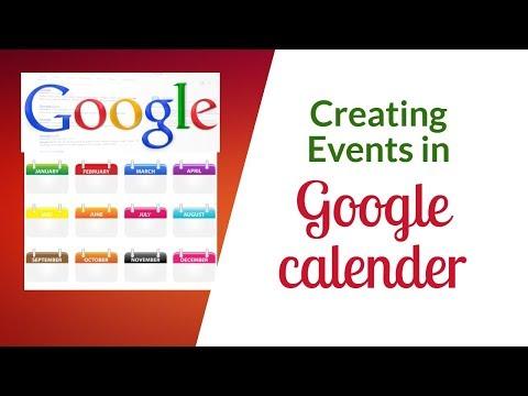 Events creating in Google calendar( Bangla Tutorial) create notification