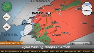 Syria Massing Troops To Attack Israel Buffer Zone As U.S. Warns