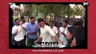 Team Mehbooba at  TKR  College Fest - Akash Puri | Neha Shetty