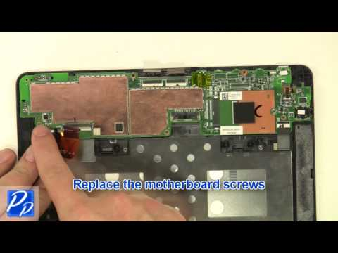 Dell Venue 8 Pro (5830) Tablet Motherboard & Touchscreen Assembly Replacement Video Tutorial