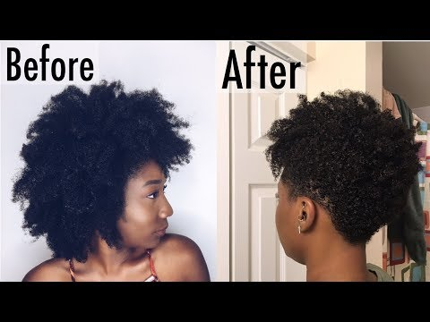 MY TAPERED CUT | NATURAL HAIR