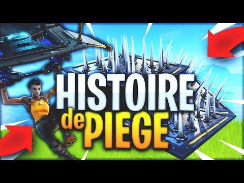 UNE HISTOIRE DE PIÈGE SUR FORTNITE BATTLE ROYALE