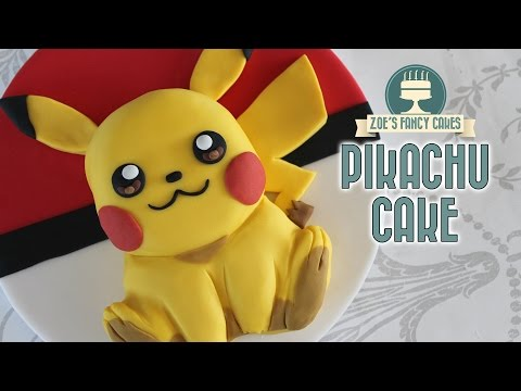 Pokemon Go cakes : Pikachu cake
