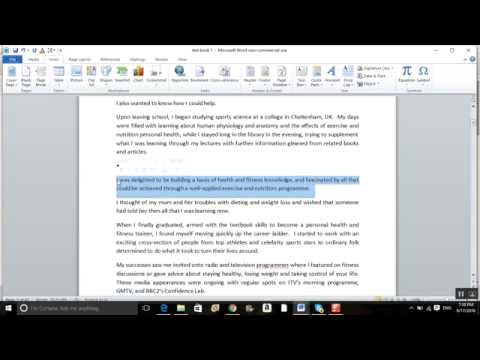 How to add bullet points to your Kindle Book