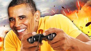 Obama Plays Black Ops 2! (Obama Voice Trolling)