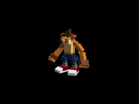 Lego Skylanders #500 Crash Bandicoot