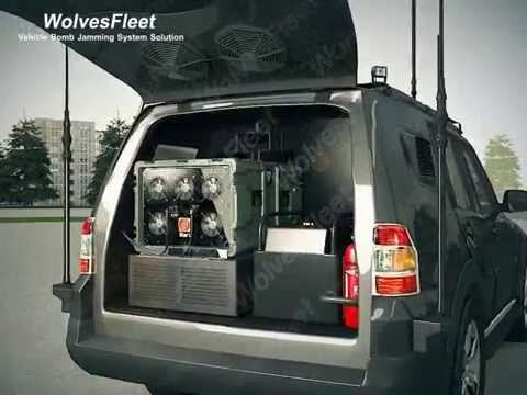 Vehicel Bomb Jamming System with DDS Technology TG-MCP1.2