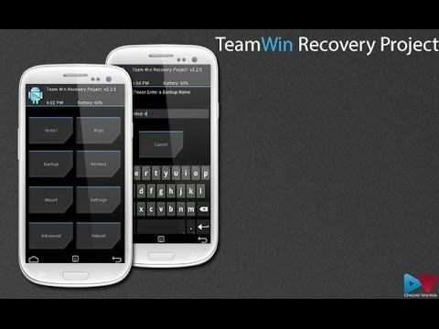 Установка TWRP Recovery через Odin