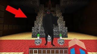 Я ПРИЗВАЛ ДУХ ЧЁРНОГО ЧЕЛОВЕКА В ЗАМКЕ С ПРИЗРАКАМИ В МАЙНКРАФТ 100% ТРОЛЛИНГ ЛОВУШКА Minecraft